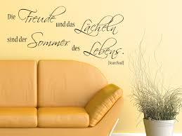 Lebensfreude Ausdrücken Mit Einem Wandtattoo Spruch Freude Am Leben