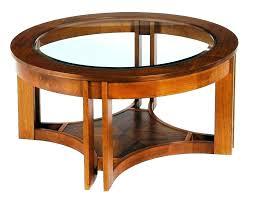 large round wood coffee table modern wood coffee tables round wood and glass coffee table wood