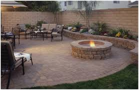 garden design ideas paving beautiful luxury outdoor fire pit pavers paver patio with grill surround and