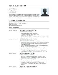 Sample Format Of A Resume – Resume Bank