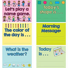 Really Good Stuff Pocket Chart Really Good Stuff 904134 Good Morning Day Starter Pocket Chart