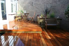 Small Picture Small Garden Decking