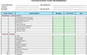 Home Construction Estimator Excel Residential Construction Cost Estimator Excel Residential