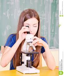 Student In Science Class Stock Photo Image Of Classroom 33326344