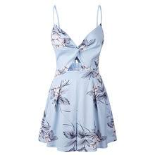 sexy women summer floral sling sleeveless shirt tops ladies strappy tank 2019 beach v neck