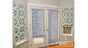 roman blinds on french doors.  Roman Intended Roman Blinds On French Doors S