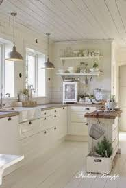White country kitchen designs Farmhouse Kinda Like The Two Lights Above The Countertops Rustic White Kitchens Country White Kitchen Columbusdealscom White Cottage Farmhouse Kitchens Country Kitchen Designs We Love