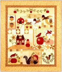 Pumpkin Hill Quilt Pattern by Bunny Hill Designs by Bunny Hill ... & Quilt Patterns. Scroll Over Image for Close-up! Adamdwight.com