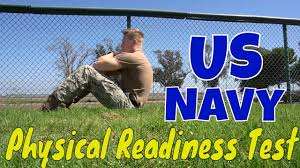 Navy Physical Readiness Test How To Navy Fitness Exam Prt Requirements