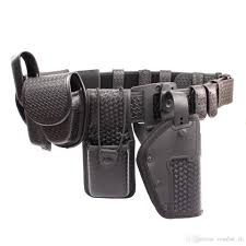 2019 rocotactical police duty belt rig kit includes compact light holder handcuff case radio holder belt keepers mk4 oc pouch basketweave from combat ch