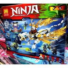 Lắp ráp Xếp hình not Lego Ninjago Rồng Chiên Đấu Thế Hệ Mới LELE 79123 (575  chi tiết)cho bé trai tại Hải Phòng