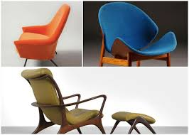 mid century furniture design. wonderful furniture 3 sculptural midcentury chairs perfect to relax and mid century furniture design e