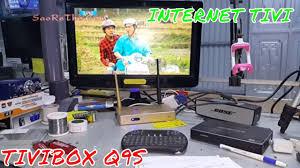 CÁCH KẾT NỐI TIVI MÀN VI TÍNH VỚI TIVI BOX Q9S - Làm Internet Tivi - MANUAL  Internet TV BOX Q9 - YouTube