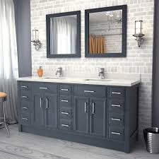 Bathrooms Design Avola Inch Double Sink Bathroom Vanity White