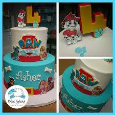 paw patrol birthday cake v=