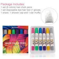 6 Color Hair Chalk Jamhoodirect Non