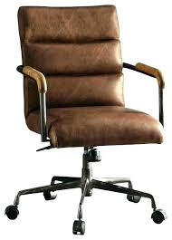 Vintage metal office chair Harter Modern Industrial Desk Chair Executive Office Leather Vintage Brown Infamousnowcom Modern Industrial Desk Chair Executive Office Leather Vintage Brown