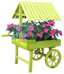 wooden flower cart green wooden vendor cart planter wooden flower cart planter wooden flower cart