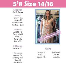 Lularoe Size Chart Ana Bedowntowndaytona Com