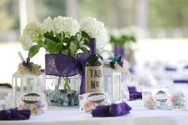 Fetching Images Of Purple Table Setting Decoration Design Ideas : Excellent  Picture Of Wedding Design And