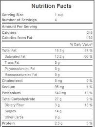 Thai Bananas In Coconut Milk Nutrition Facts Pizza