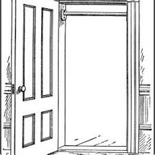 open door clipart black and white. Perfect Open Open Door Clipart Black And White Pencil In Color  On Open Door Clipart Black And White I