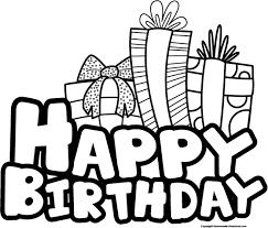 birthday present clip art black and white. Fine Art Present Black And White Clipart View All Birthday Cliparts Black   Inside Clip Art R