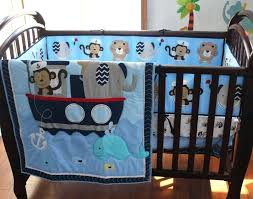 monkey crib bedding blue navigation monkey whale baby bedding set cot crib bedding set for boys monkey crib bedding