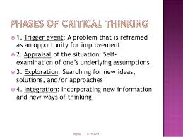 Critical Thinking in Nursing Practice  NA ND PNCar    Critical Thinking Exercise