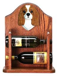 cavalier king charles spaniel gifts cavalier dog wood wine rack bottle holder figure cavalier king charles cavalier king charles spaniel gifts