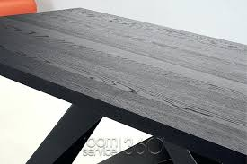 full size of fjord rectangular dining table and bench set dark stain oak grey big by
