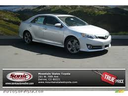 2014 Toyota Camry SE V6 in Classic Silver Metallic - 537930 ...
