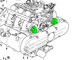 similiar auto mounts diagram keywords notice the engine mounting bolts green in the below diagram