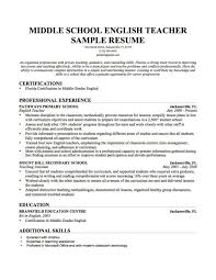 Cover Letter Teacher Sample Resume Teacher Sample Resume Doc Esl