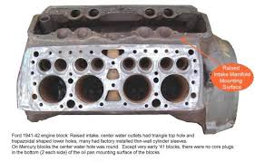 Ford Flathead V8 Engine Identification Chart Flathead Ford Engines Lost Wages