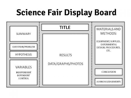 Science Fair Display Board Template Science Project Poster Template