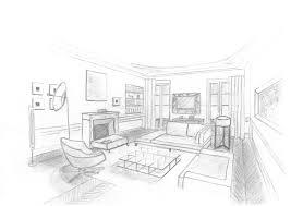 Dessin D Interieur De Maison Newsindo Co