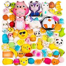 BeYumi Random 16 PCS Squishy Toys(Including 15 PCS <b>Mini</b> + <b>1</b> ...