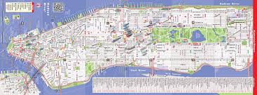 nyc map by vandam  nyc downtown streetsmart map  city street