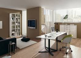 modern home office decorating. Home InteriorSimple Office Ideas With White Table Reading Design Modern Decorating