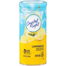 Crystal Light Classic Orange Powdered Drink Mix Caffeine Free 2 5 Oz Can