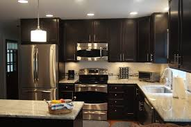 kitchen cherry cabinets with granite countertops white dark wit