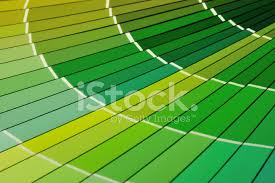 Green Paint Color Chart Close Up Of Green Paint Color Chart Fan Deck Stock Photos