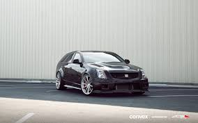 Cadillac CTS-V Wagon w/ 20″ Convex Wheels | Kleanfacer Whipz ...