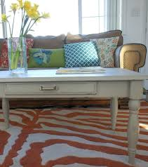 chalk painted coffee table round painted coffee table ideas white t chalk paint coffee table top