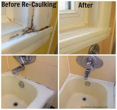 how to clean old caulking from bathtub ideas