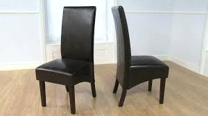 leather parsons dining chairs various leather parsons dining chair faux parson set of 2 kitchen wishes