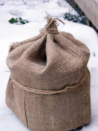 a 12 foot long burlap plant cover with a width of 40 inches is