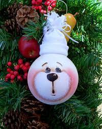Turn Light Bulbs Into Creative Christmas Ornaments