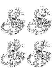 Small Picture Maya art british museum 2 Mayans Incas Coloring pages for